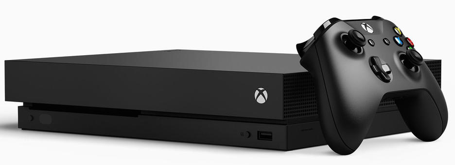 Xbox One X 1TB Konsol och Shadow of the Tomb Raider [Endast Hos GameStop]
