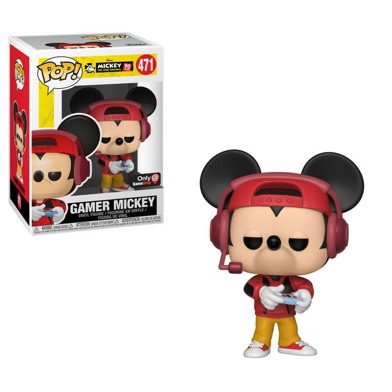 Pop Disney: Mickey's 90th Birthday - Gamer Mickey [Endast Hos GameStop]