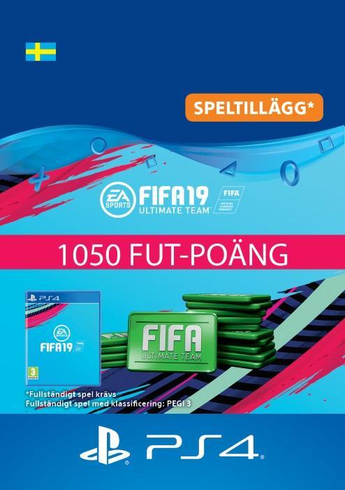 FIFA 19 Ultimate Team™ - 1050 FUT-Poäng Till PS4 [DIGITAL]