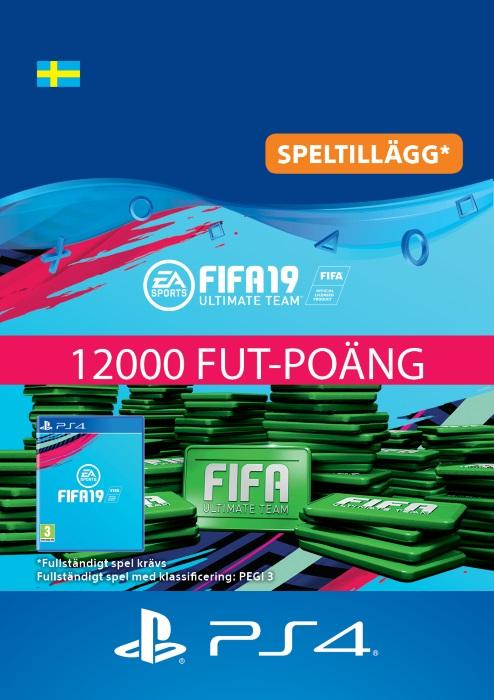 FIFA 19 Ultimate Team™ - 12000 FUT-Poäng Till PS4 [DIGITAL]