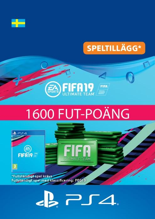 FIFA 19 Ultimate Team™ - 1600 FUT-Poäng Till PS4 [DIGITAL]