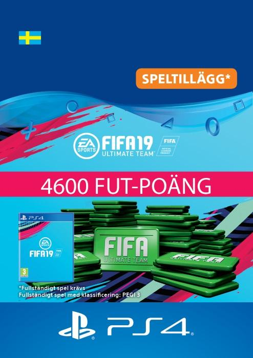 FIFA 19 Ultimate Team™ - 4600 FUT-Poäng Till PS4 [DIGITAL]