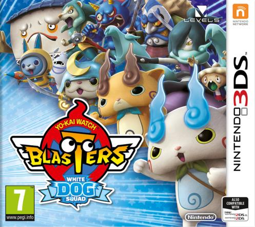 Yo-Kai Watch Blasters White Dog Squad