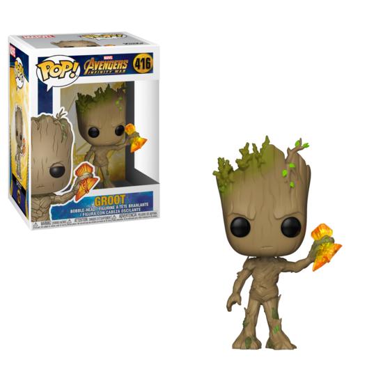 Pop! Marvel: Avengers Infinity War - Groot with Stormbreaker