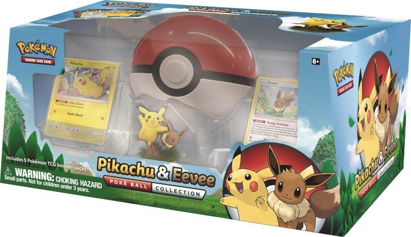 Pokemon TCG: Pikachu & Eevee Poke Ball Collection