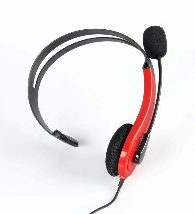 At Play Black/Red Wired Headset till Switch