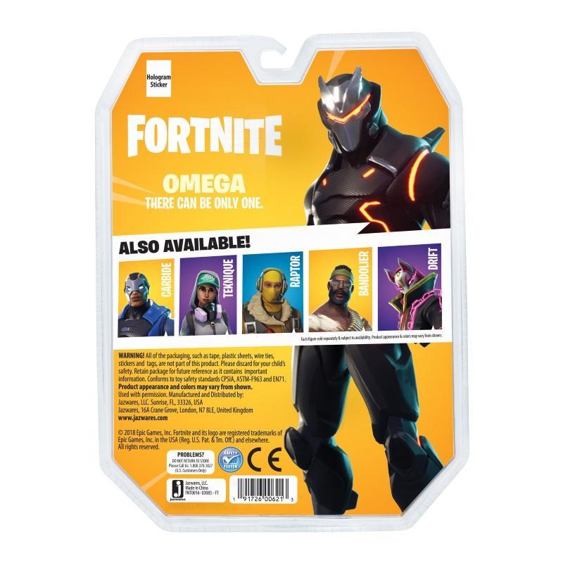 Fortnite: Early Game Survival Kit 1 Figure Pack - Omega