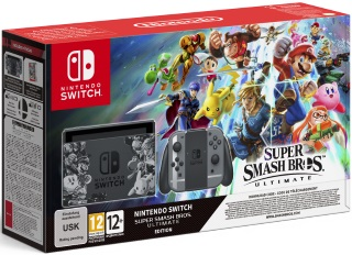 Nintendo Switch™ Super Smash Bros. Ultimate Edition Konsol