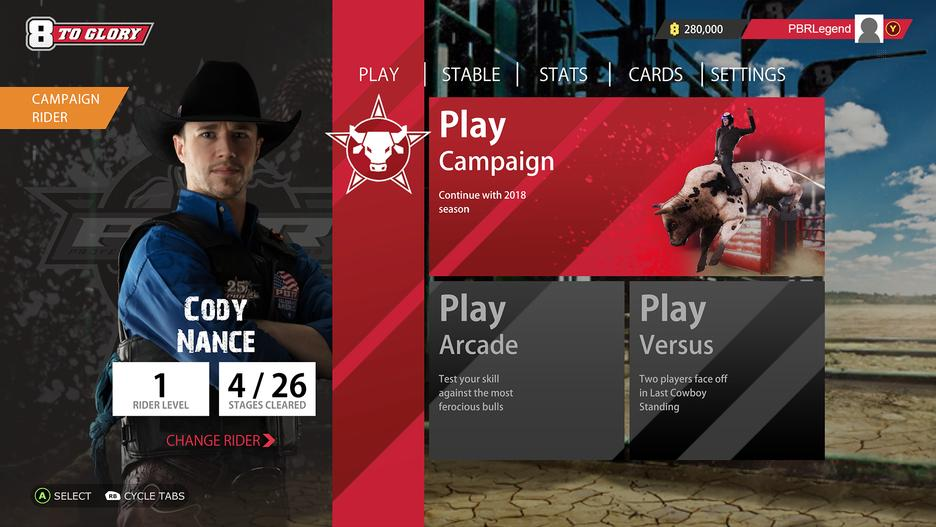 8 To Glory - The Official Game of the PBR