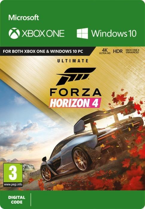 Forza Horizon 4 Ultimate Edition Till Xbox One [DIGITAL]