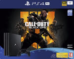 PlayStation®4 1TB Pro Konsol och Call of Duty®: Black Ops 4
