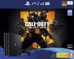 PlayStation®4 Pro 1TB Konsol och Call of Duty®: Black Ops 4