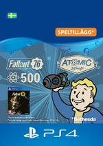 Fallout 76 – 500 atoms Till PS4