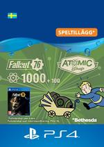 Fallout 76 – 1000 atoms (+100 i bonus) Till PS4
