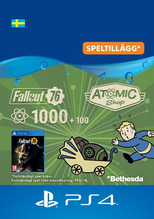 Fallout 76 – 1000 atoms (+100 i bonus) Till PS4 [DIGITAL]