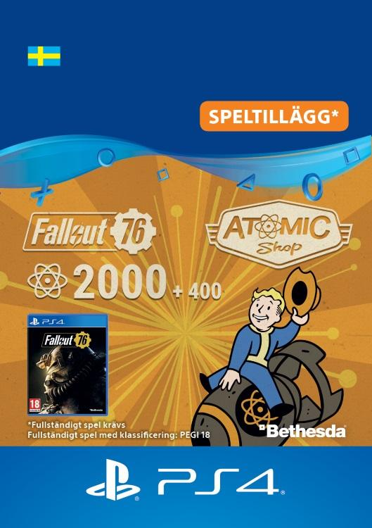 Fallout 76 – 2000 atoms (+400 i bonus) Till PS4 [DIGITAL]