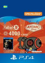 Fallout 76 – 4000 atoms (+1000 i bonus) Till PS4
