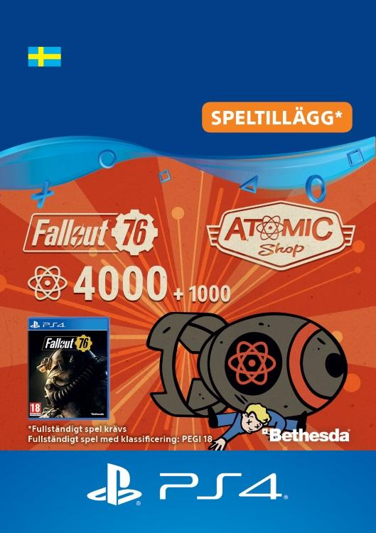 Fallout 76 – 4000 atoms (+1000 i bonus) Till PS4 [DIGITAL]