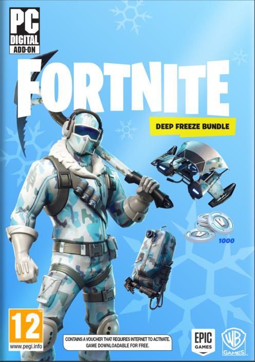 fortnite  deep freeze bundle till pc gamestop sverige