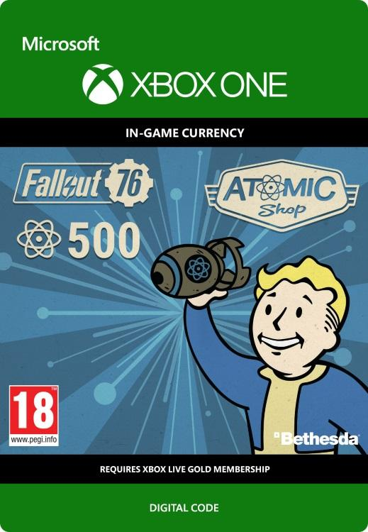 Fallout 76 – 500 atoms Till Xbox One [DIGITAL]