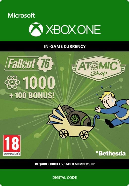 Fallout 76 – 1000 atoms (+100 i bonus) Till Xbox One [DIGITAL]