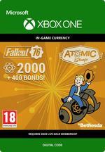 Fallout 76 – 2000 atoms (+400 i bonus) Till Xbox One