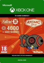 Fallout 76 – 4000 atoms (+1000 i bonus) Till Xbox One