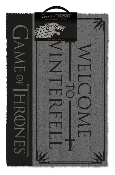 Game Of Thrones: Welcome to Winterfell Doormat