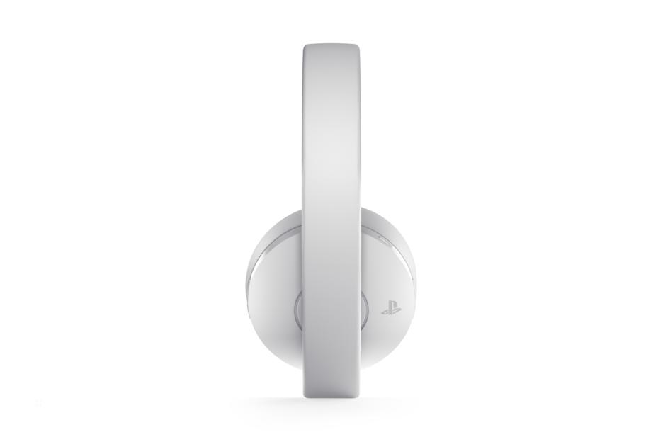 PlayStation 4™ Gold Edition Wireless White Headset