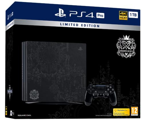 PlayStation®4 Pro 1TB Kingdom Hearts III Limited Edition Console