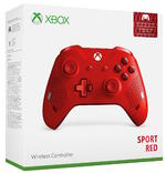 Xbox One: Sport Red Special Edition Wireless Controller