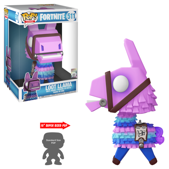 Pop Games: Fortnite S3 - Loot Llama 10""