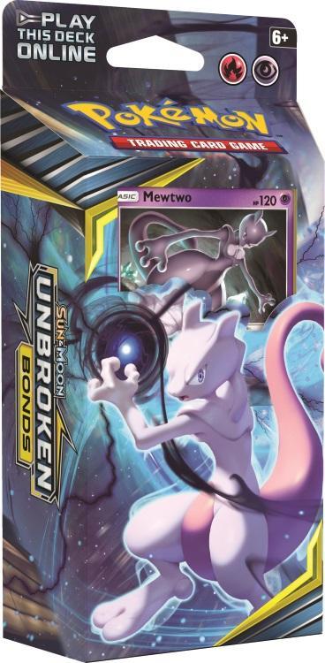 Pokémon TCG: Sun & Moon Unbroken Bonds Theme Deck