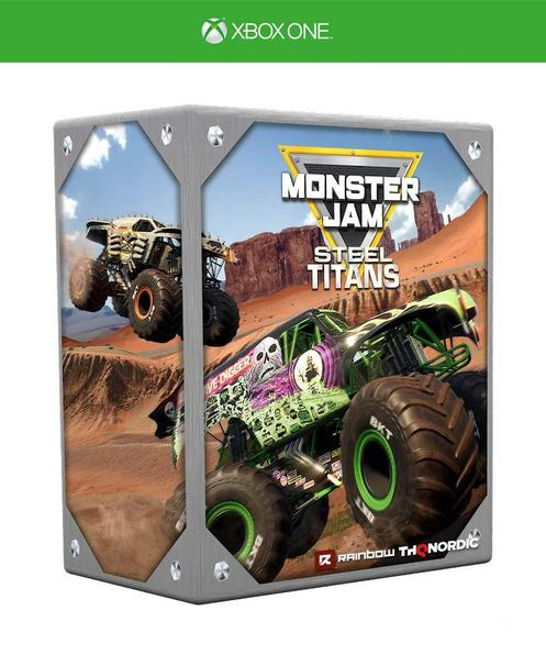 Monster Jam Steel Titans - Collectors Edition