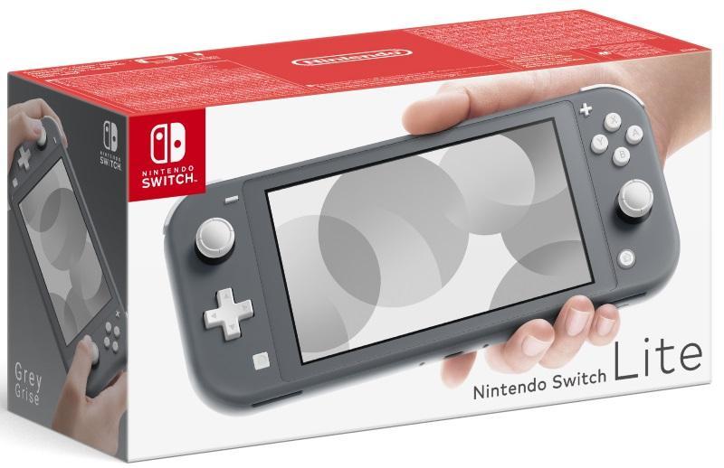 Nintendo Switch Lite Grey Konsol