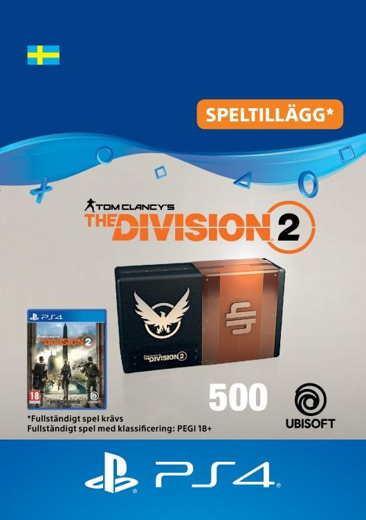 Tom Clancy's - The Division 2: 500 Premium Credits-Paket Till PS4 [DIGITAL]