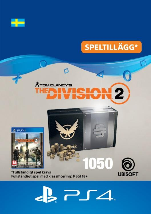 Tom Clancy's - The Division 2: 1050 Premium Credits-Paket Till PS4 [DIGITAL]