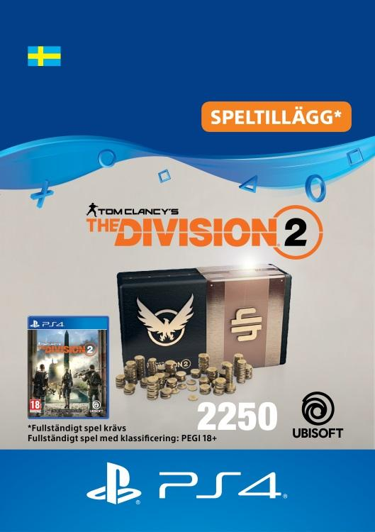 Tom Clancy's - The Division 2: 2250 Premium Credits-Paket Till PS4 [DIGITAL]