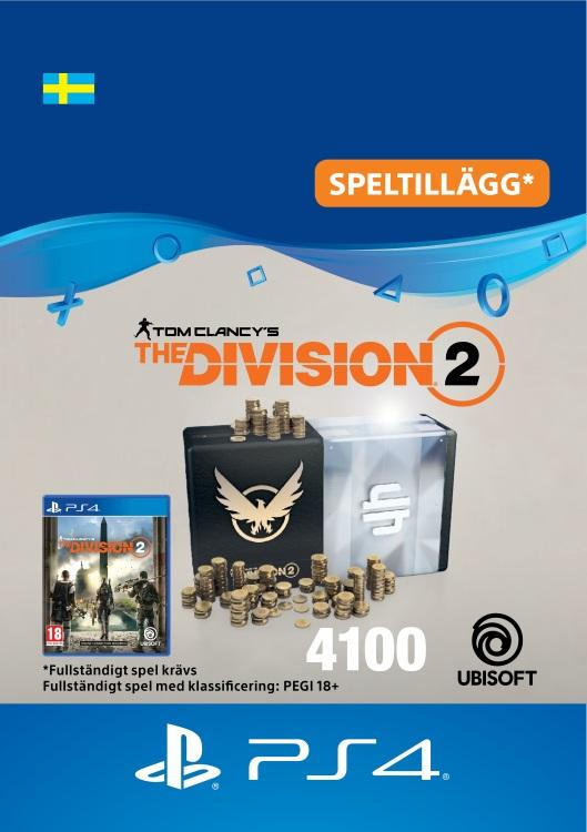 Tom Clancy's - The Division 2: 4100 Premium Credits-Paket Till PS4 [DIGITAL]