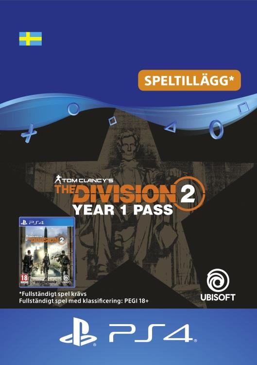 Tom Clancy's - The Division 2: Year 1 Pass Till PS4 [DIGITAL]