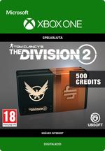 Tom Clancy's - The Division 2: 500 Premium Credits-Paket Till Xbox One