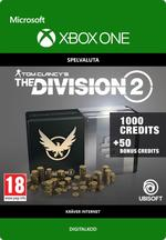 Tom Clancy's - The Division 2: 1050 Premium Credits-Paket Till Xbox One