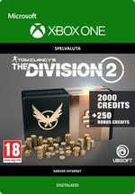 Tom Clancy's - The Division 2: 2250 Premium Credits-Paket Till Xbox One