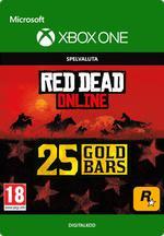 Red Dead Redemption 2: 25 guldtackor till Xbox One