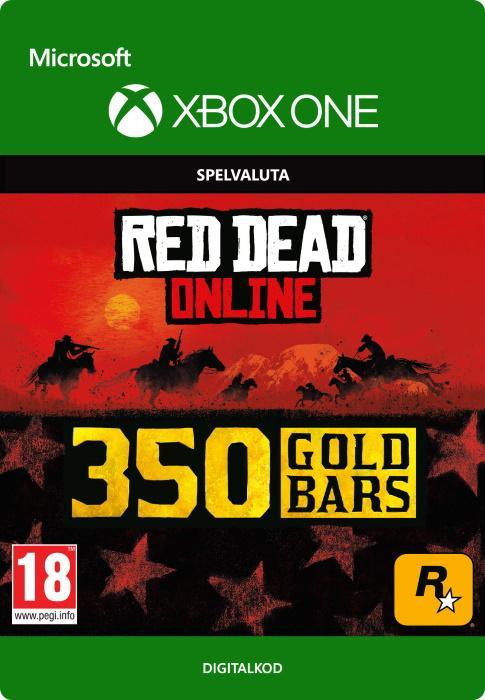 Red Dead Redemption 2: 350 guldtackor till Xbox One [DIGITAL]