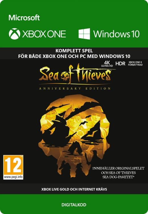 Sea of Thieves: Anniversary Edition Till Xbox One [DIGITAL]