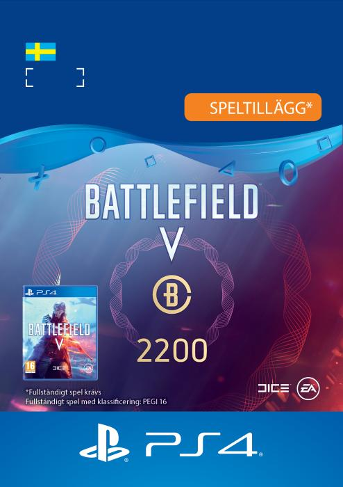Battlefield™ V – 2200 Battlefield-valuta Till PS4 [DIGITAL]