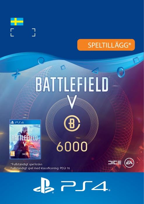 Battlefield™ V – 6000 Battlefield-valuta Till PS4 [DIGITAL]