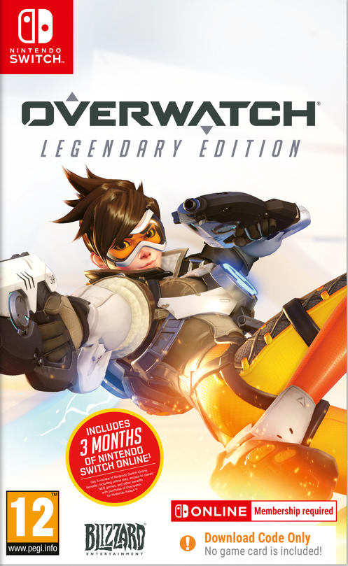 Overwatch® Legendary Edition includes 3 Months Switch Online