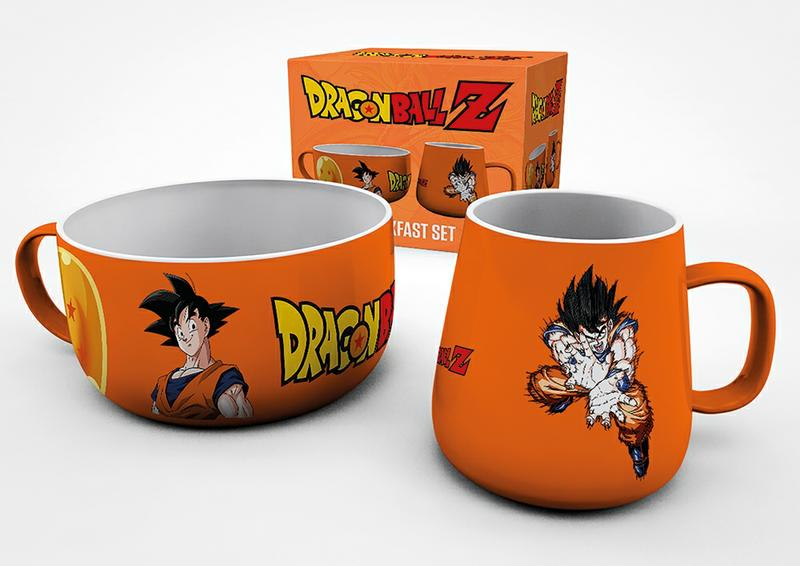 DragonBall Z  Breakfast Set